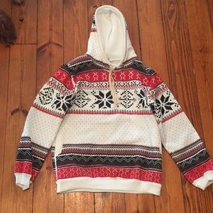 Other - Holiday sweatshirt. WITH POCKETS!